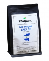 Кофе в зернах Teakava Nicaragua SHG EP, 250 г (моносорт арабики)
