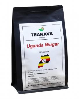 Кофе в зернах Teakava Uganda Wugar, 250 г (моносорт арабики)