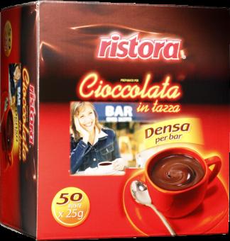 Горячий шоколад Ristora порционный, 50х25 г