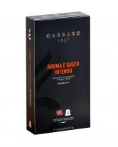 Кофе в капсулах Carraro Aroma e Gusto Intenso NESPRESSO, 10 шт