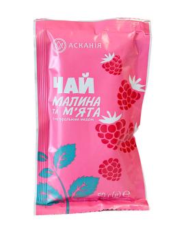 """Чай фруктово-медовый """"Малина и мята"""" Аскания, 50 г"""