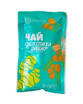 """Чай фруктово-медовый """"Облепиха и имбирь"""" Аскания, 50 г"""