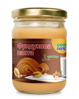 Фундучная паста с арахисом Good Energy, 180 г