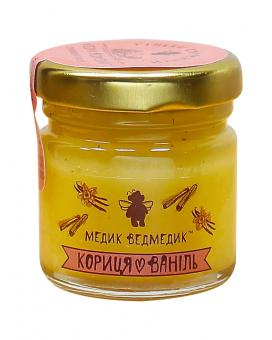 Мед кориця+ваніль 50г