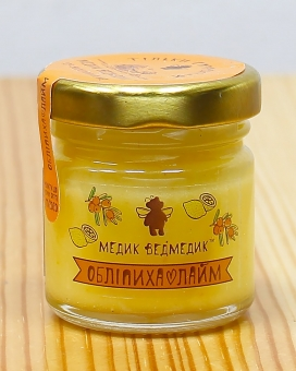 Мед облепіха+лайм 50г