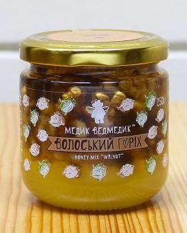 Мед волоський горіх 250г