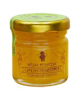 """Мед из разнотравья """"Медик Ведмедик"""", 50 г"""