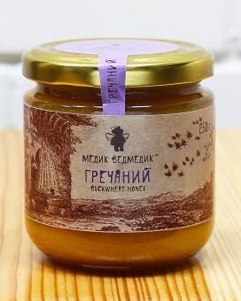 """Мед гречишный """"Медик Ведмедик"""", 250 г"""