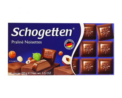 Шоколад Schogetten Praline Noisettes, 100 г