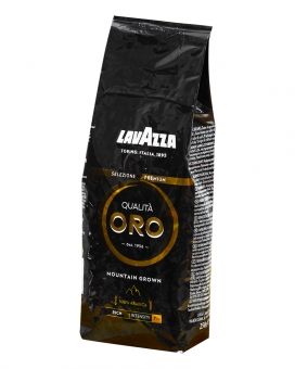 Кофе в зернах Lavazza Qualita Oro Black Mountain Grown, 250 г (100% арабика)