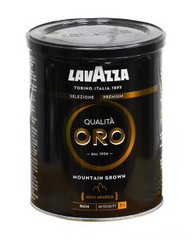 Кофе молотий Lavazza Qualita Oro Black Mountain Grown 100% арабика, 250 г (ж/б)