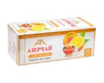 """Чай черный Azercay """"Апельсин"""", 1,8г*25 шт (ароматизированный чай в пакетиках)"""