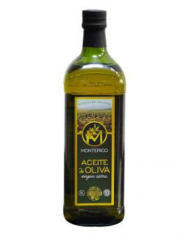 Масло оливковое первого отжима Monterico Extra Virgin, 1 л