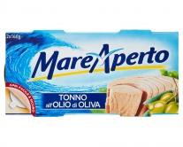 Тунец консервированный в оливковом масле Mare Aperto, 2шт*160г