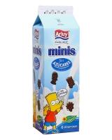 Печенье шоколадное без сахара Arluy Minis Simpsons, 275 г