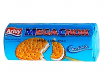 Печенье Arluy Megachok с ванильной прослойкой, 180 г