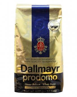Кофе в зернах Dallmayr Prodomo, 500 г (100% арабика)