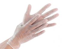 Перчатки виниловые прозрачные, размер L, 100 шт