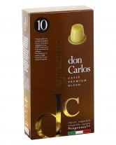Кофе в капсулах Carraro Don Carlos Espresso Bar NESPRESSO, 10 шт