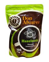 Кофе растворимый Don Alvarez Лесной орех, 100 г (100% арабика)