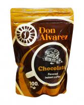 Кофе растворимый Don Alvarez Шоколад, 100 г (100% арабика)