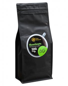 Кофе растворимый Don Alvarez Лесной орех, 500 г (100% арабика)