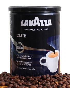 Кофе молотый Lavazza Club 100% арабика, 250 г (ж/б)