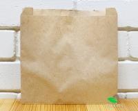 Крафт пакет бумажный 210х210х60 мм, 100 шт