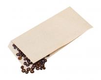 Крафт пакет бумажный уголок 100х210 мм, 100 шт