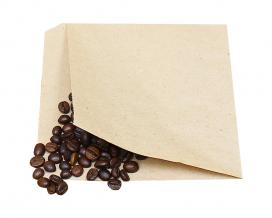 Крафт пакет бумажный уголок 140х140 мм, 100 шт