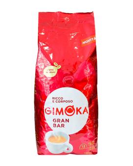 Кофе в зернах Gimoka Rosso Gran Bar, 1 кг (20/80)