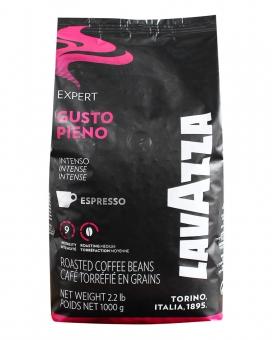 Кофе в зернах Lavazza Gusto Pieno Expert, 1 кг (20/80)