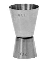 Джиггер Co-Rect 20/40 профи, нержавеющая сталь