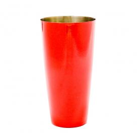 Стакан-шейкер красный, 700 мл, нержавеющая сталь