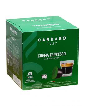 Кофе в капсулах Carraro Crema Espresso DOLCE GUSTO, 16 шт