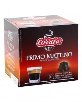Кофе в капсулах Carraro Primo Mattino DOLCE GUSTO, 16 шт