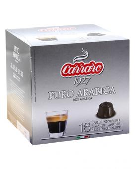 Кофе в капсулах Carraro Puro Arabica DOLCE GUSTO, 16 шт (100% арабика)