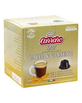Кофе в капсулах Carraro Caffe & Ginseng DOLCE GUSTO, 16 шт