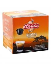 Кофе в капсулах Carraro Kenya DOLCE GUSTO, 16 шт (моносорт арабики)