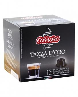 Кофе в капсулах Carraro Tazza D'oro DOLCE GUSTO, 16 шт (100% арабика)