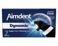 Жевательная резинка без сахара со вкусом фруктов Aimdent DYNAMIC, 7 шт/уп