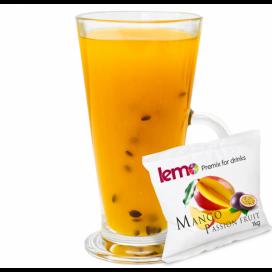 """Пюре фруктовое для чая, коктейлей """"Манго-маракуйя"""" LEMO, 45 г (премикс, основа)"""