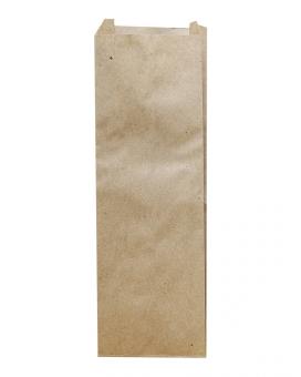 Крафт пакет бумажный 100х230х40 мм, 100 шт