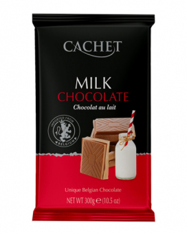 Шоколад Cachet молочный 32%, 300 г