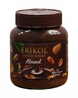 Шоколадная паста с миндалем Erikol Almond, 400 г