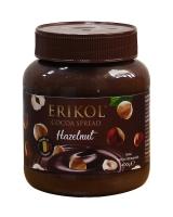 Шоколадная паста с лесным орехом Erikol Hazelnut, 400 г