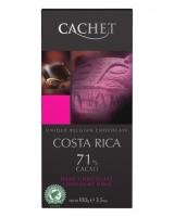 Шоколад Cachet черный Costa Rica 71%, 100 г