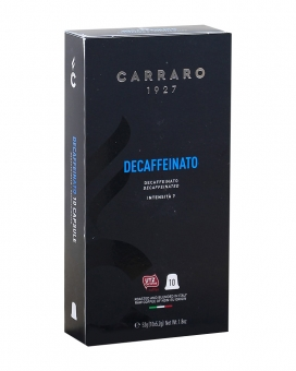 Кофе в капсулах Carraro Decaffeinato NESPRESSO (без кофеина), 10 шт