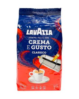 Кофе в зернах Lavazza Crema e Gusto Classico, 1 кг (30/70)