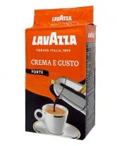 Кофе молотый Lavazza Crema e GustoForte, 250 г (20/80)